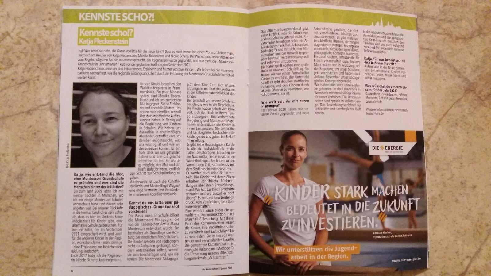 Interview Kleiner Lohrer